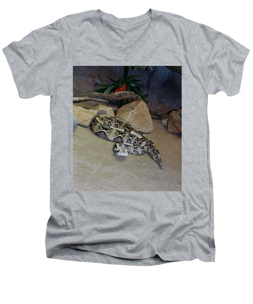 Out Of Africa Viper 2 Men's V-Neck T-Shirt