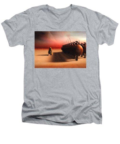 Out Of Egypt Men's V-Neck T-Shirt