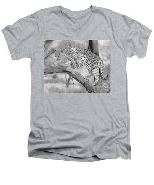 Out On A Limb Men's V-Neck T-Shirt