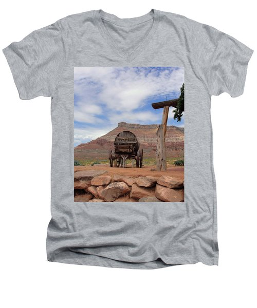 Out West Men's V-Neck T-Shirt