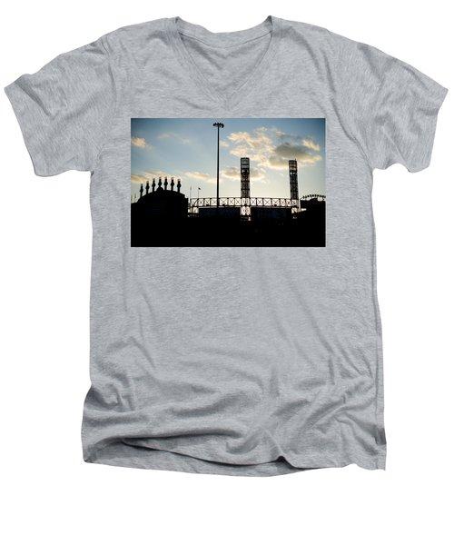 Outside Comiskey Park Men's V-Neck T-Shirt
