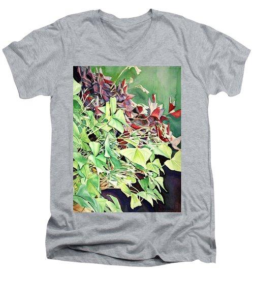 Oxalix Tangle Men's V-Neck T-Shirt