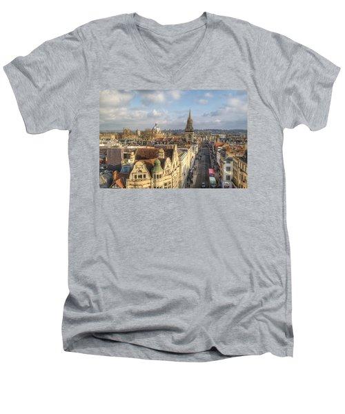 Oxford High Street Men's V-Neck T-Shirt