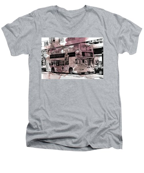 Oxford Street Men's V-Neck T-Shirt
