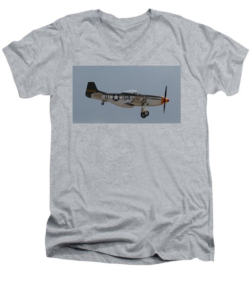 P-51 Landing Configuration Men's V-Neck T-Shirt