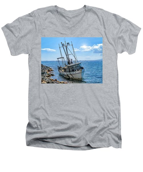 Pacific Maid 2 Men's V-Neck T-Shirt