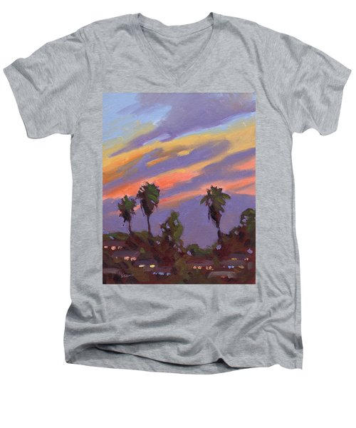 Pacific Sunset 1 Men's V-Neck T-Shirt