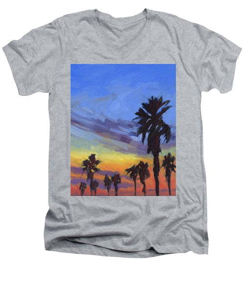 Pacific Sunset 2 Men's V-Neck T-Shirt