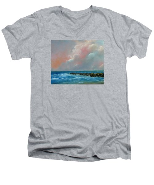Pacific Sunset Men's V-Neck T-Shirt