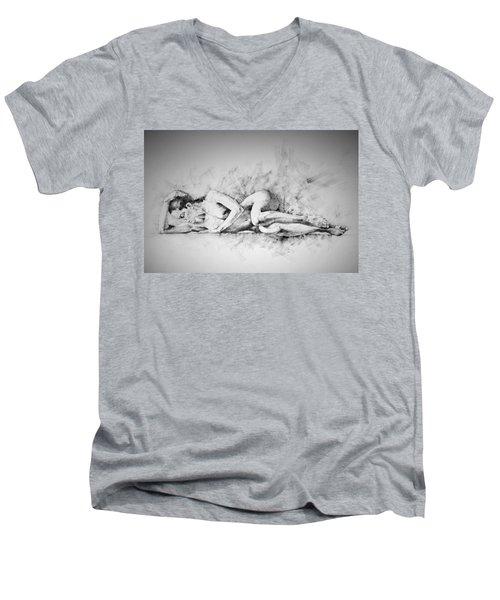 Page 4 Men's V-Neck T-Shirt