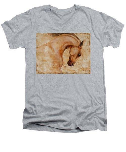 Painted Determination 1 Men's V-Neck T-Shirt