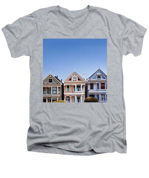 Painted Ladies Men's V-Neck T-Shirt