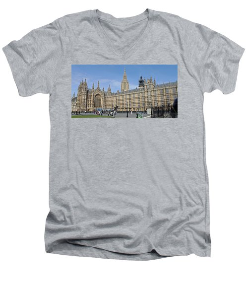Palace Of Westminster Men's V-Neck T-Shirt