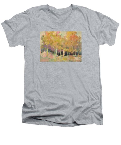 Pale Forest Men's V-Neck T-Shirt