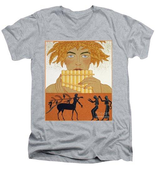 Pan Piper Men's V-Neck T-Shirt
