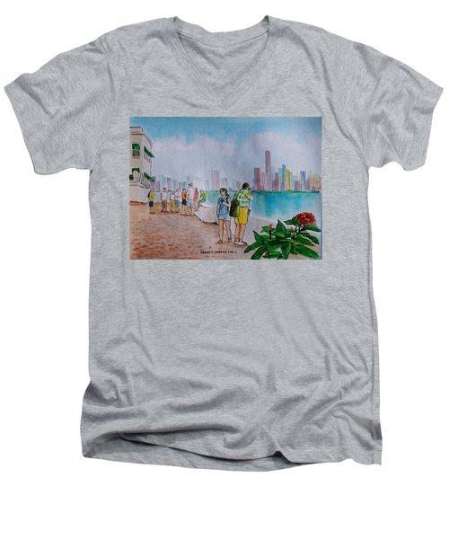 Panama City Panama Men's V-Neck T-Shirt