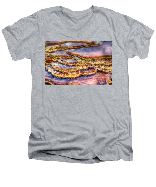 Pancakes Hot Springs Men's V-Neck T-Shirt