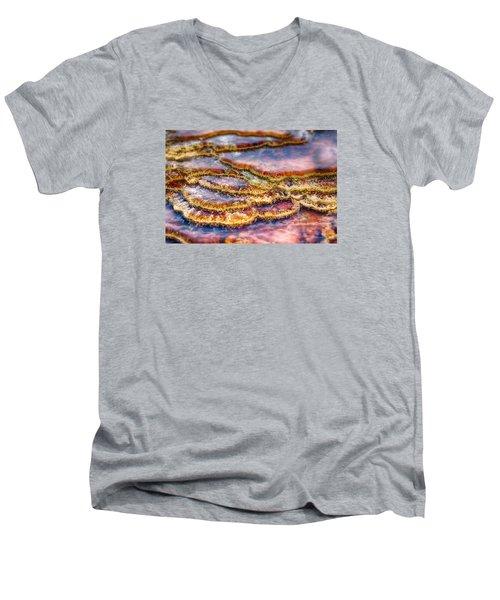 Pancakes Hot Springs Men's V-Neck T-Shirt