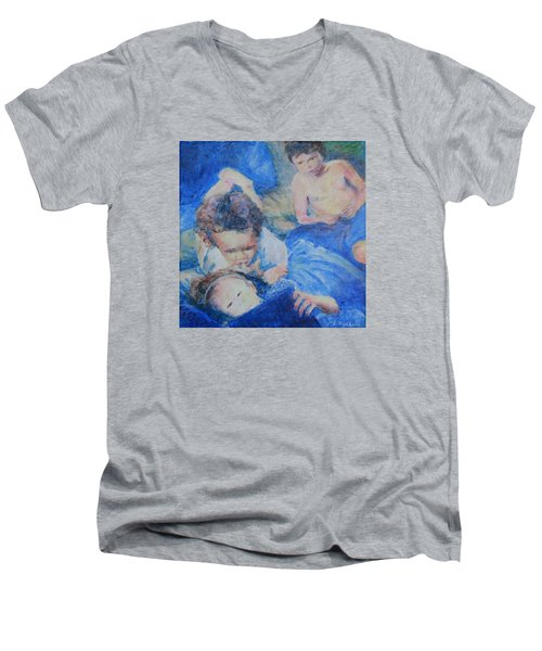 Papo's Putti Men's V-Neck T-Shirt