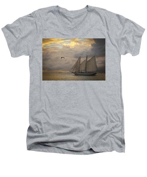 Paradise Calling Men's V-Neck T-Shirt