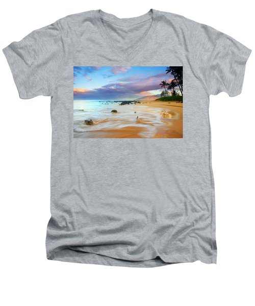 Paradise Dawn Men's V-Neck T-Shirt