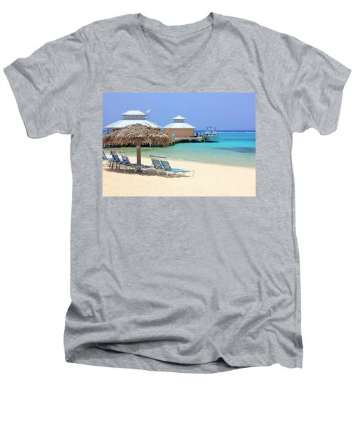 Paradise Docking Men's V-Neck T-Shirt