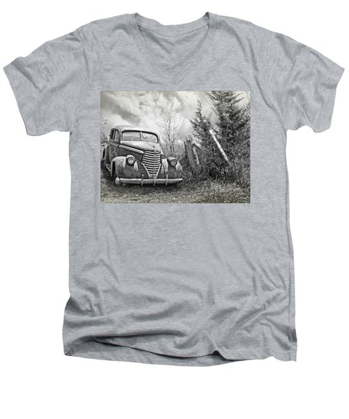 Part Of The Landscape Men's V-Neck T-Shirt