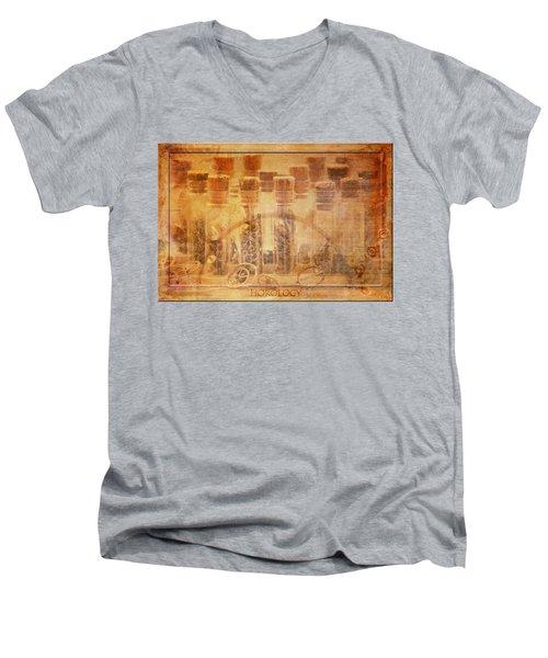 Parts Of Time Men's V-Neck T-Shirt