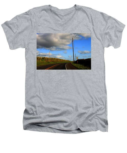 Pass With Care Men's V-Neck T-Shirt