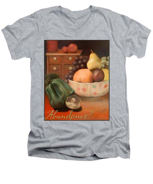 Abundance 2 Men's V-Neck T-Shirt