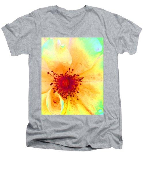 Pastel Garden Men's V-Neck T-Shirt