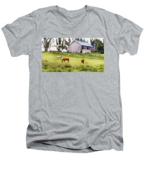 Pasture Men's V-Neck T-Shirt