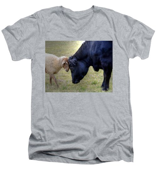 Pasture Pals Men's V-Neck T-Shirt