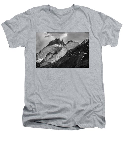 Patagonian Mountains Men's V-Neck T-Shirt