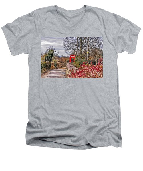 Path Through The Cotswolds Men's V-Neck T-Shirt