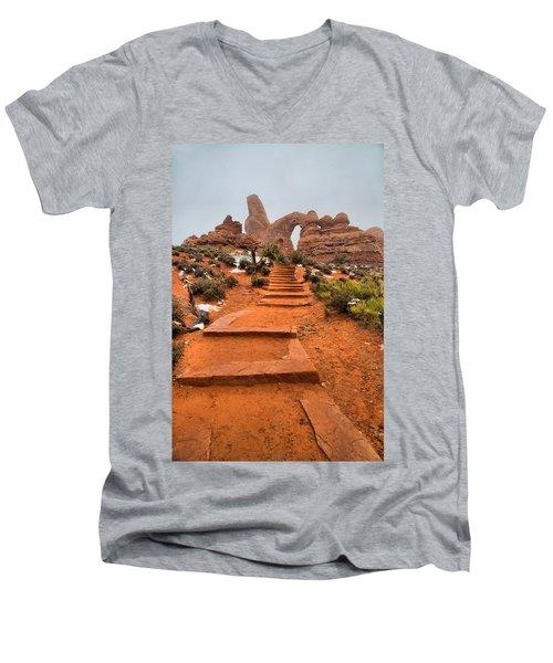 Pathway To Portals Men's V-Neck T-Shirt