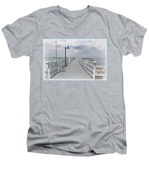 Pathway To The Clouds Men's V-Neck T-Shirt