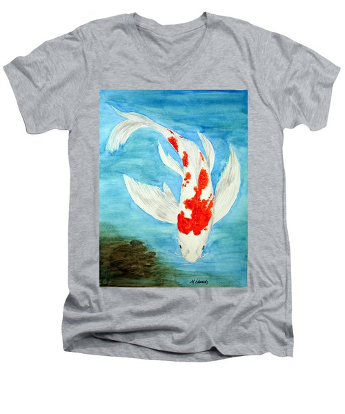 Paul's Koi Men's V-Neck T-Shirt