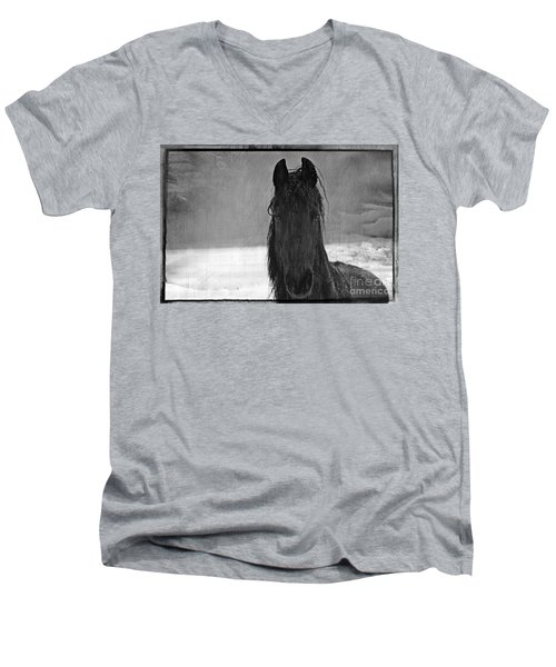 Peace In The Storm Men's V-Neck T-Shirt by Michelle Twohig