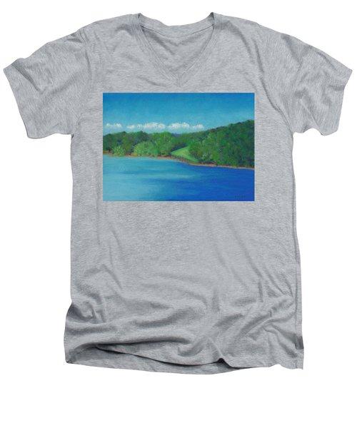 Peaceful Beginnings Men's V-Neck T-Shirt