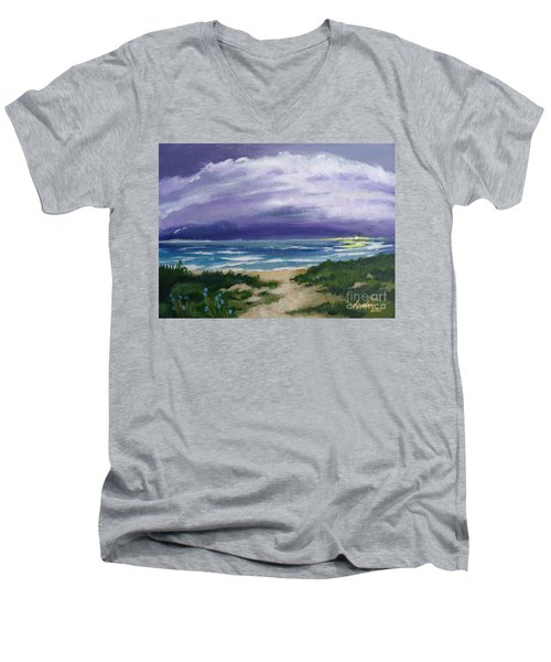 Peaceful Sunrise Men's V-Neck T-Shirt