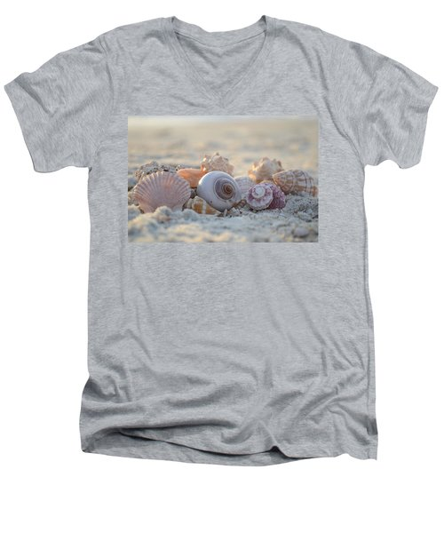 Peaceful Whispers Men's V-Neck T-Shirt