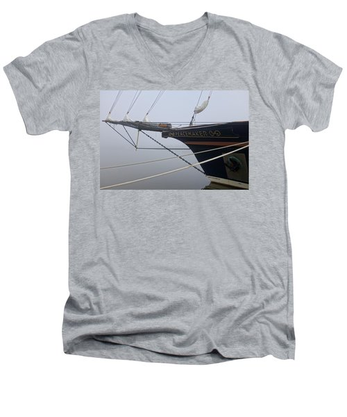 Men's V-Neck T-Shirt featuring the photograph Peacemaker by Julia Wilcox