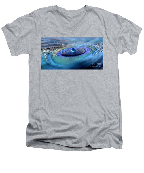 Peacock Potion Men's V-Neck T-Shirt