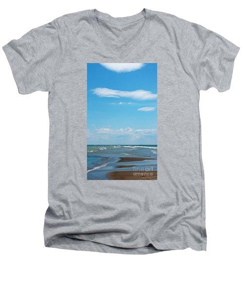 Pelee Men's V-Neck T-Shirt