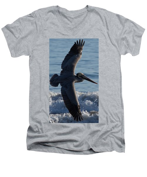 Pelican Flight Men's V-Neck T-Shirt