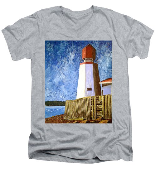 Pendlebury Lighthouse Men's V-Neck T-Shirt