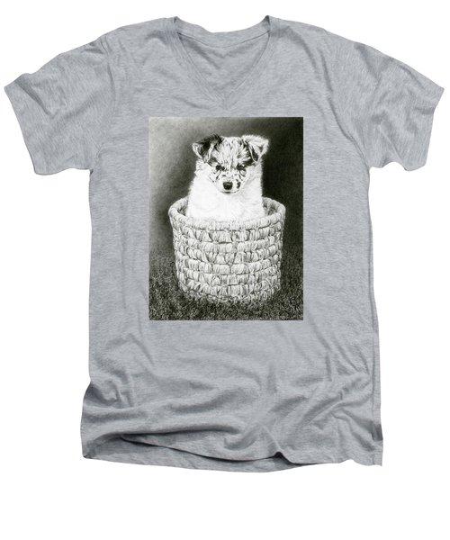 Pepper Men's V-Neck T-Shirt