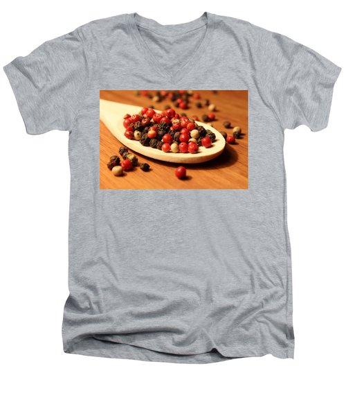 Peppercorns Men's V-Neck T-Shirt