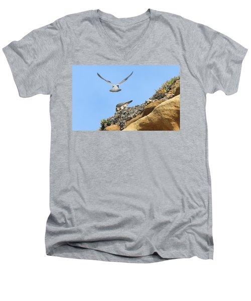 Peregrine Falcons - 2 Men's V-Neck T-Shirt